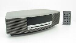 Bose Wave Music III CD Player Radio Alarm Clock Sound Touch Control Titanium