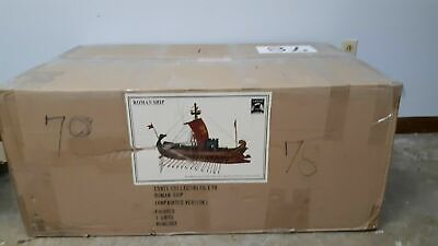 RARE CONTE ROMAN SHIP IN BOX. ONLY 500 MADE !! 2007 PRODUCTION