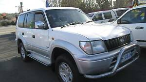 1997 Toyota LandCruiser Prado Grande Wagon Youngtown Launceston Area Preview