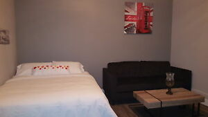 DOWNTOWN BACHELOR APARTMENT furnished or unfurnished