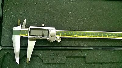 12-inch Digital Caliper With Fractional Displaymmsae Extra Large