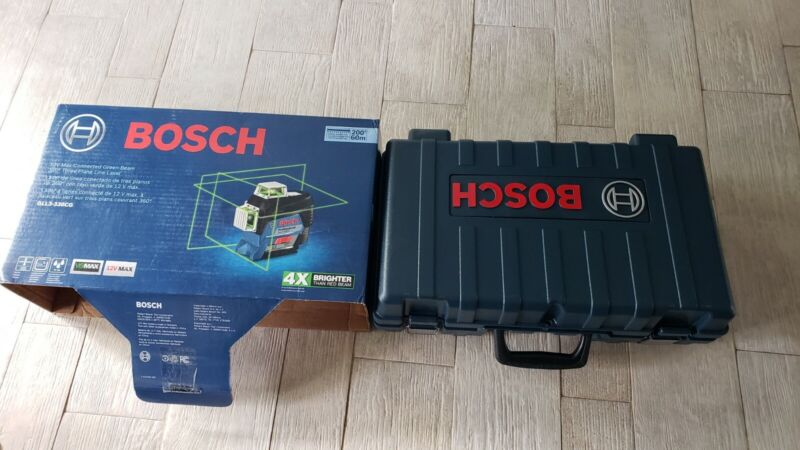 Bosch GLL3-330CG Hard carrying case only with all the accessories NO LASER LEVEL