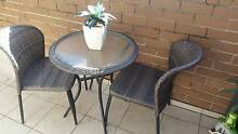 2 chairs and glass coffee Bexley North Rockdale Area Preview