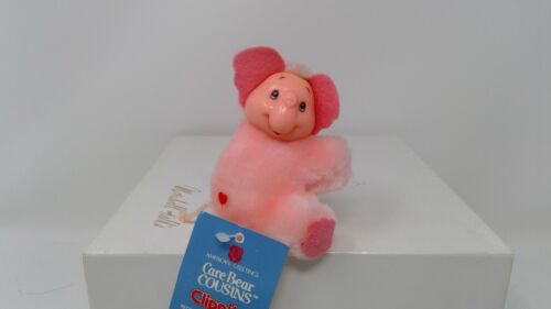 1985 American Greetings Care Bear Clippit Elephant - W/Tag