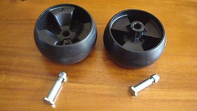 replaces CUB CADET MTD Terrace Deck Wheel 734-04039 deck roller wheels with bolt
