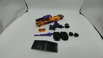 Transformers G2 Onslaught 90% Complete Bruticus.