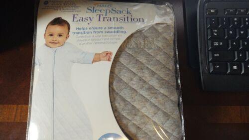 Halo Easy Transition Sleepsack Wearable Blanket, Heather Grey, Medium