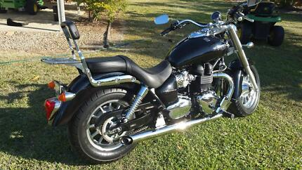 FOR SALE 2011 TRIUMPH MOTORBIKE IMMACULATE CONDITION Hervey Range Charters Towers Area Preview