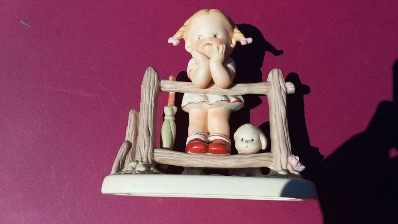 1987 Memories of Yesterday What Will I Grow Up to Be Ceramic Figurine #114537