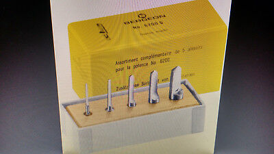5 Reamers for Bushing Tool 6200