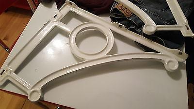 Vintage Heavy duty  Porcelain Cast Iron  Sink Brackets. American Standard 1920