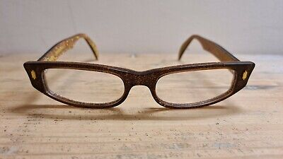 Kirk Originals Rhea 1002 Hand Made in France BRAND NEW 51.18 140 Brown + Gold