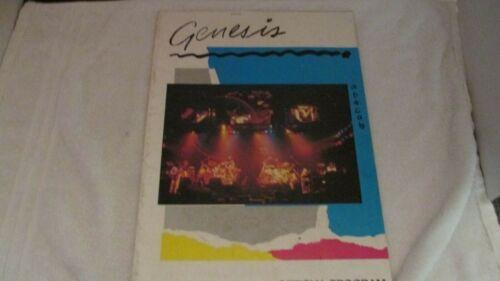 GENESIS 1981 ABACAB US TOUR CONCERT PROGRAM BOOK BOOKLET PHIL COLLINS VG