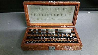 Mitutoyo Endmaßkasten Parallelendmaße 1-60 mm 516-968