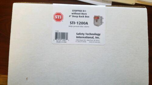 STI-1200A Back Box