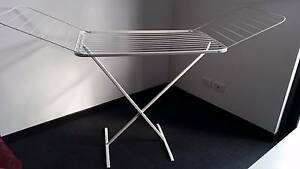 Barely used white drying rack/clothes horse, two fold-out wings Kingsford Eastern Suburbs Preview