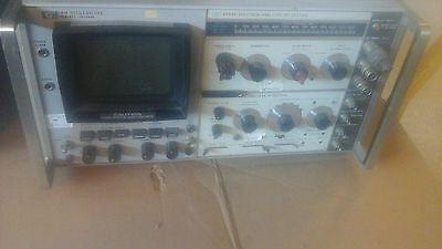 Display Section Rf If Spectrum Analyzers - Hp 141b  8552b