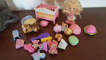 Toddler doll play set
