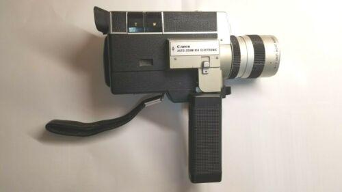 Canon Auto Zoom 814 vintage camera Super 8mm