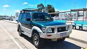 1998 Toyota Prado GXL 4WD Auto Dual fuel Backpacker ready Adelaide CBD Adelaide City Preview
