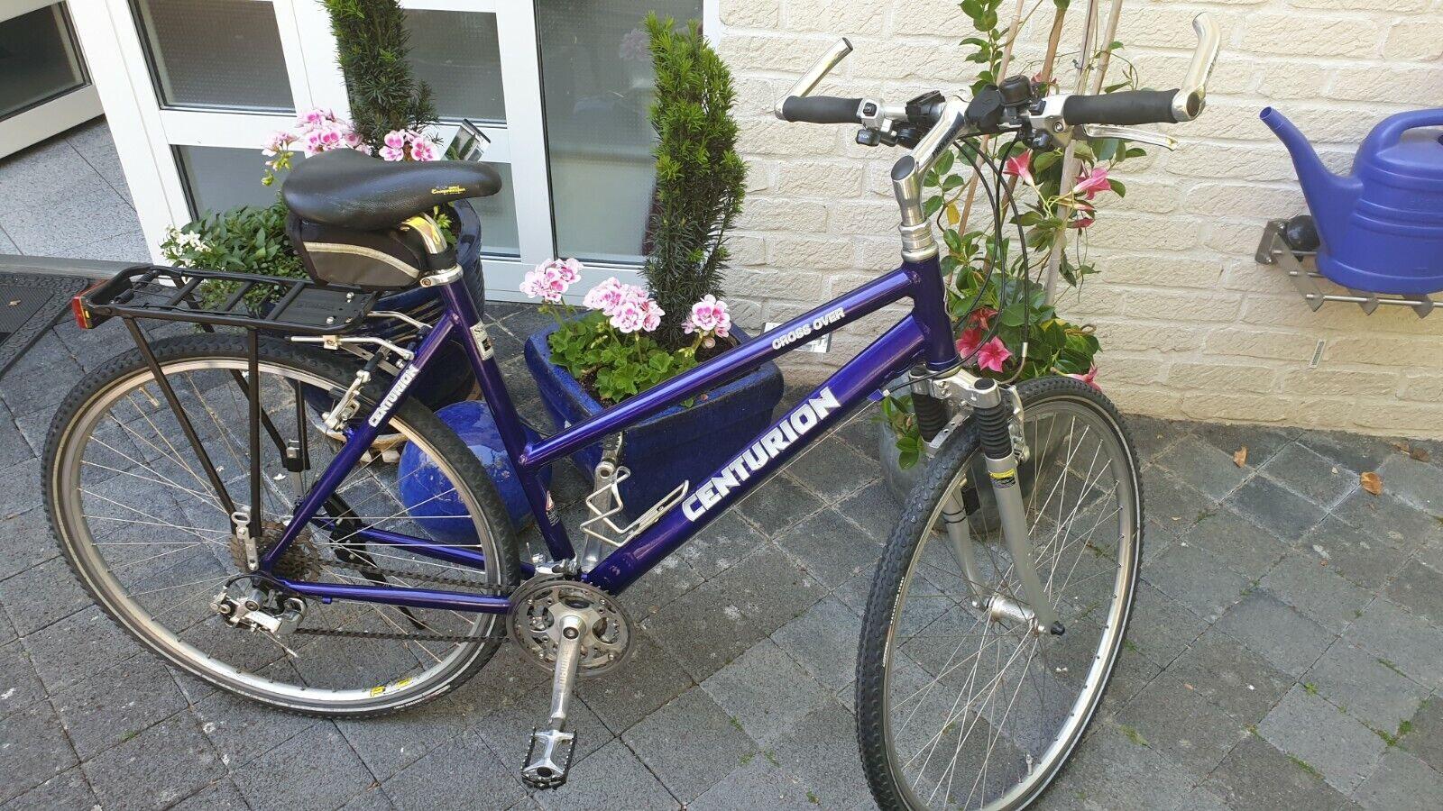 CENTURION, Cross Over, Tour, Damen, Trekkingrad, Fahrrad, blau, Rahmenhöhe 54,