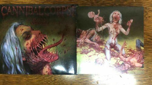 CANNIBAL CORPSE Violence Unimagined CD Uncencored version EXPLICIT VERSION