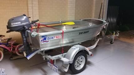 Summer Fun - Quintrex 310 Dart Dingy, Motor, Acc's & Trailer NEW
