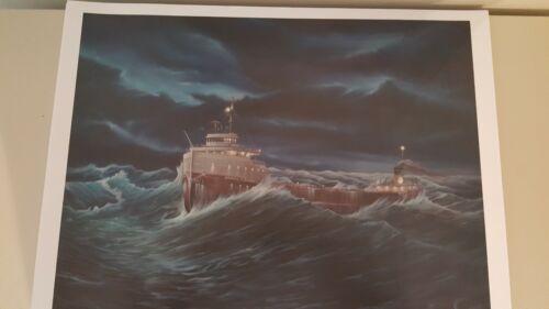 """""""S.S. Daniel J. Morrell"""" unframed print by the late Steve Witucki"""