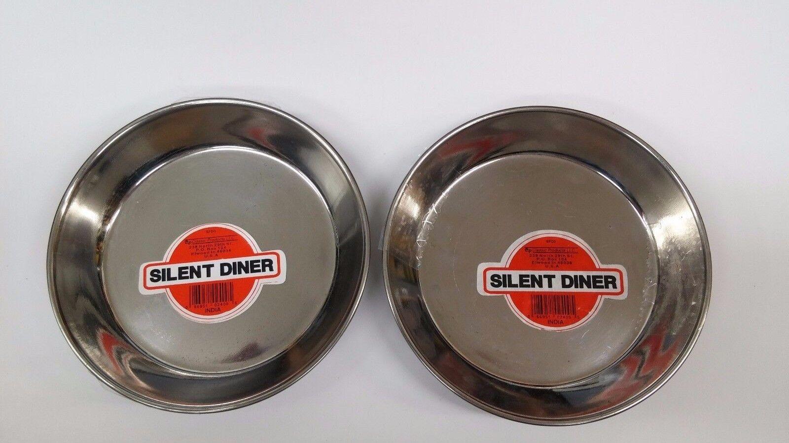 Pk-2 Silent Diner, SFD0, Pet Food & Water Bowl 8oz