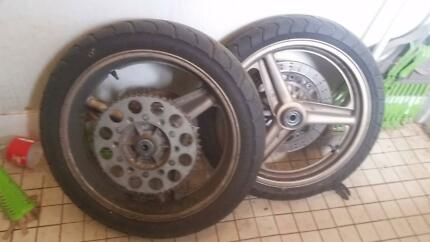 CBR Wheels Suit DRZ, WRF, KTM Motard Conversion