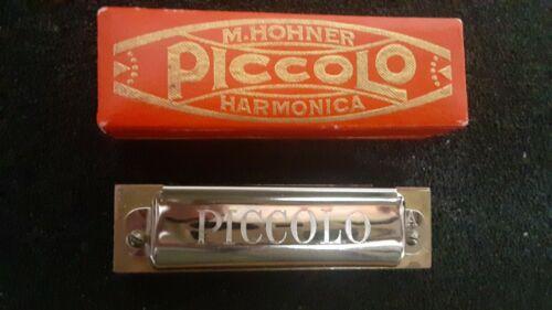 Vintage Harmonica M. Hohner Piccolo Pre War Key A Harp, Rare Harmonica
