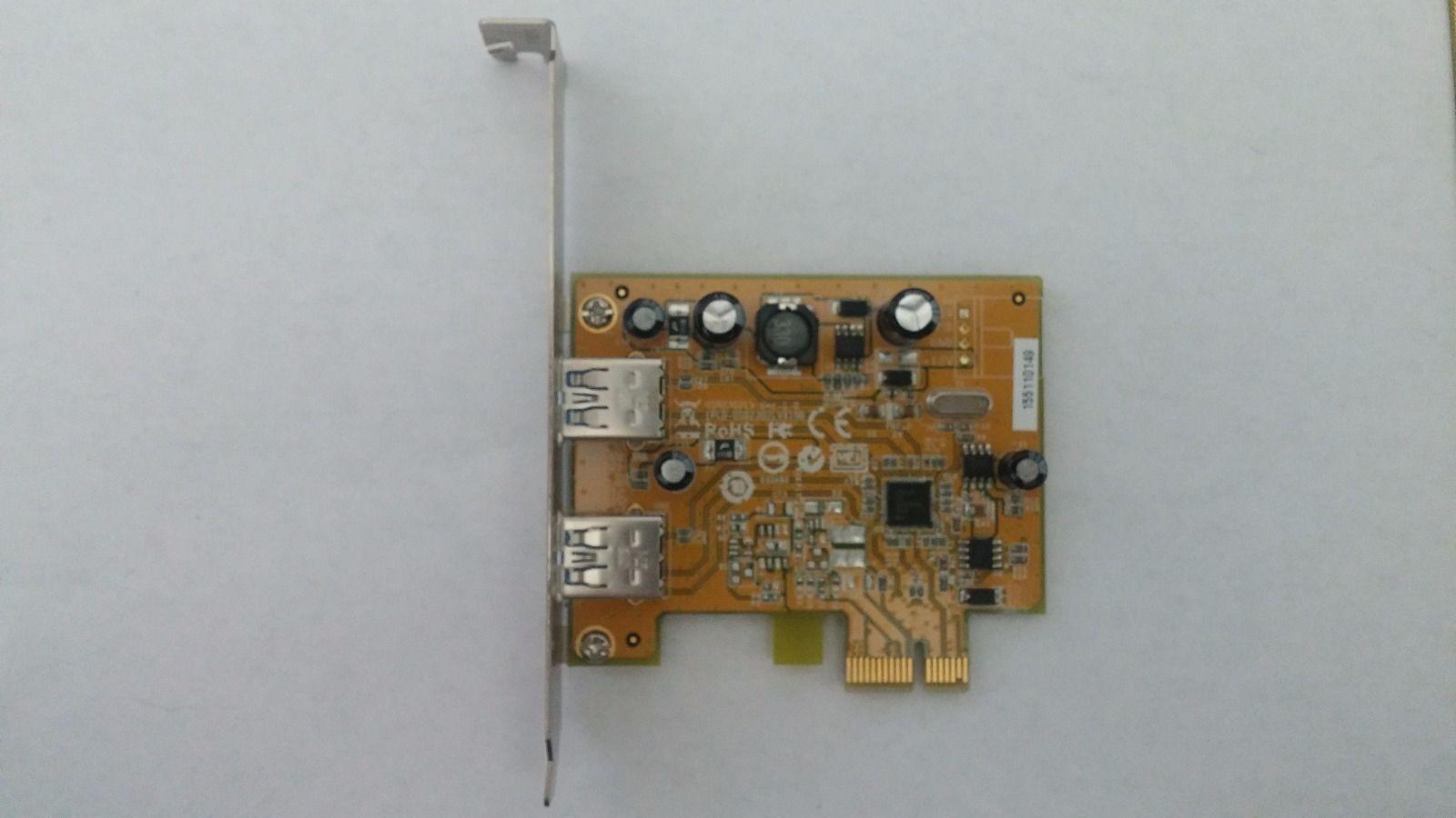 Genuine Lenovo Thinkserver Ts130 Pci-e (2)two Usb 3.0 Car...