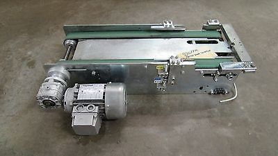 Carpanelli Double Belt Electric Conveyor System 23-12x1-34 220440v 950fp