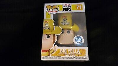 Pop Ad Icons- Sugar Corn Pops- Big Yella #71 Funko Shop Exclusive
