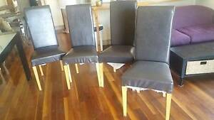 4 Black Dining Chairs Sydenham Marrickville Area Preview