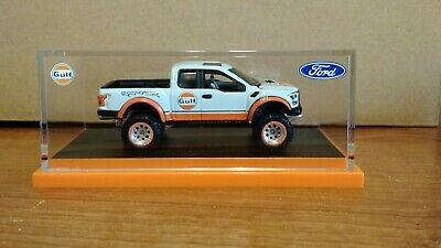 2019 Hot Wheels RLC '17 Ford F-150 Raptor-Gulf Racing- #4641/10000