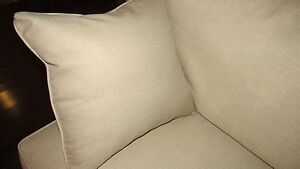 Cream Couch by Wesley Hall London Ontario image 3