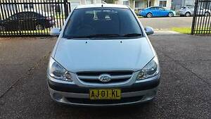 2006 Hyundai Getz TB Upgrade 1.6L 4 Cylinder - AUTOMATIC Waratah Newcastle Area Preview