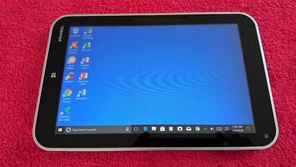 "TOSHIBA TABLET 8"" screen UNMARKED! Top Cond, Win 10, with office"