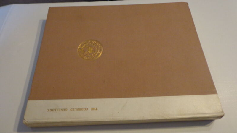 1935 Corbould Genealogy by George Poulter