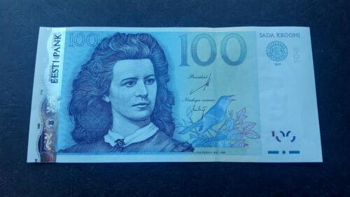 ESTONIA 100 krooni 2007 UNC