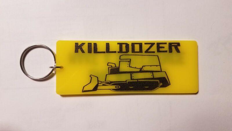 Killdozer inspired keychain key chain