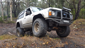 Ford maverick Da/nissan patrol gq swb 4.2td TURBO swaps vy ss Campbelltown Campbelltown Area Preview