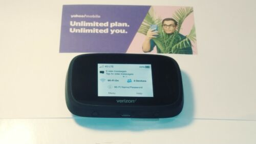 VERIZON UNLIMITED DATA NO THROTTLE NO CAPS $39.99 WITH YAHOO MOBILE! W/7730L