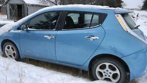 2013 Nissan Leaf SL Hatchback Finance take over