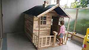 Tuff Cubbies Havana Hardwood Timber Cubby House Toy Playhouse Kingswood Penrith Area Preview