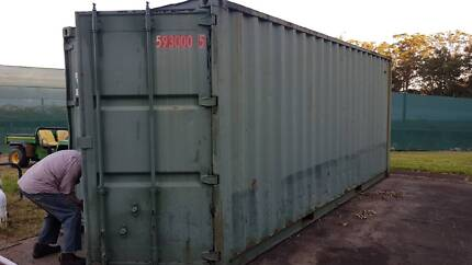 Wanted: WANTED 20' Shipping Container