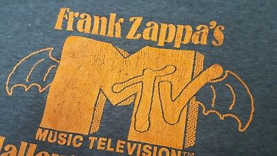 Authentic Vintage FRANK ZAPPA New York  NYC Halloween 81 Concert T-Shirt 80s - Halloween Frank Zappa