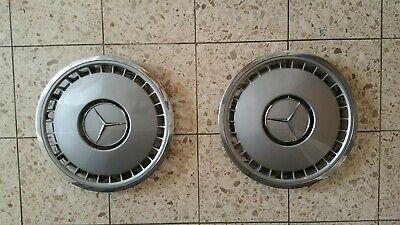 2x Mercedes Benz Radkappen W140 Oldtimer Youngtimer S-Klasse 16 Zoll Chromrand !