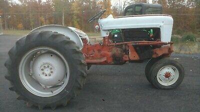 Ford Tractor 971 Powermaster Vintage 1959 Row Crop Wont Start Stuck Valves